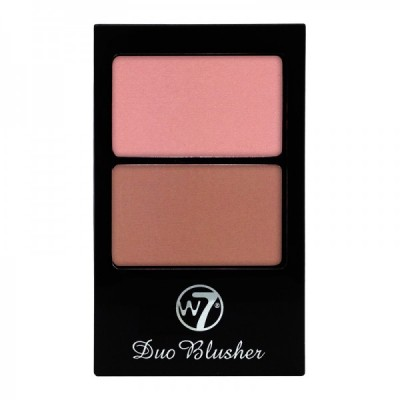 Image of   W7 Duo Blusher Compact 01 1 stk