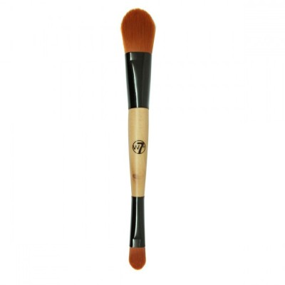 W7 Duo Foundation & Concealer Brush 1 kpl