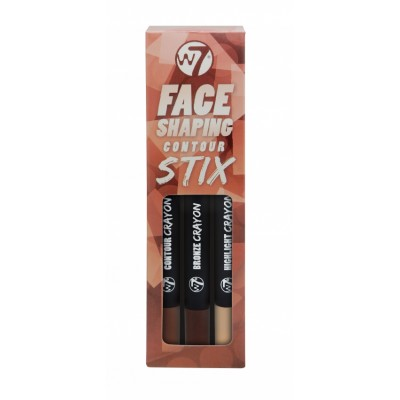 Image of   W7 Face Shaping Contour Stix 3 stk