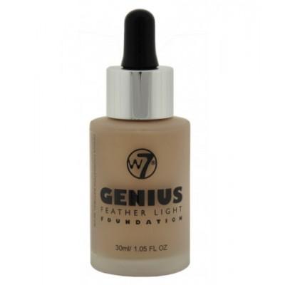 W7 Genius Foundation Natural Beige 30 ml