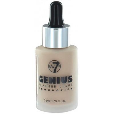 W7 Genius Foundation Sand Beige 30 ml