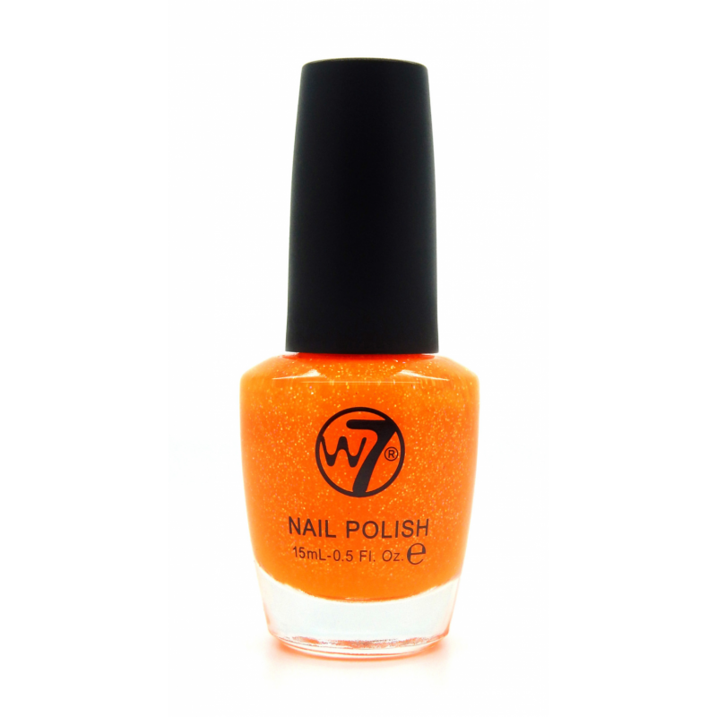 W7 Nail Polish 09 Orange Dazzle 15 Ml