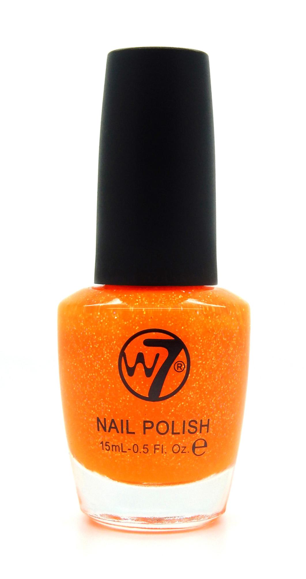 W7 Nail Polish 09 Orange Dazzle 15 ml - £1.25