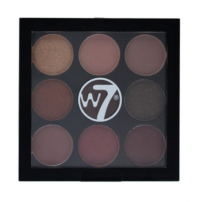 W7 Naughty Nine Eyeshadow Palette Mid Summer Nights 5 g