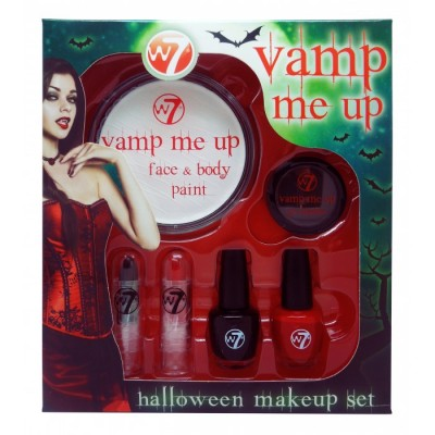 Image of   W7 Vamp Me Up Halloween Makeup Set 6 st