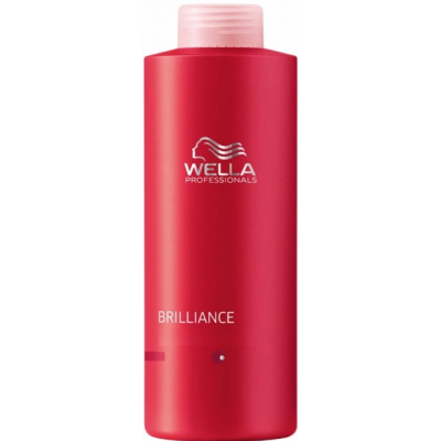 Image of   Wella Brilliance Shampoo Coarse Hair 1000 ml
