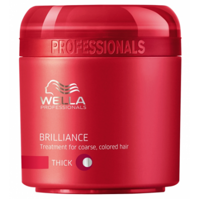 Image of   Wella Professionals Brilliance Coarse Mask 500 ml