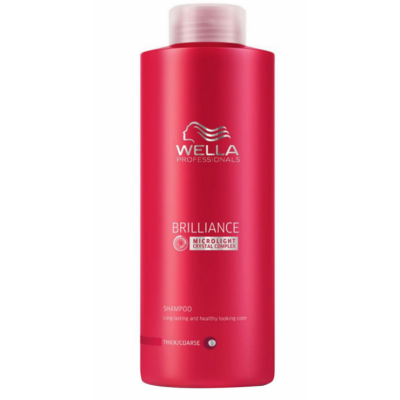 Image of   Wella Professionals Brilliance Shampoo Fine 1000 ml