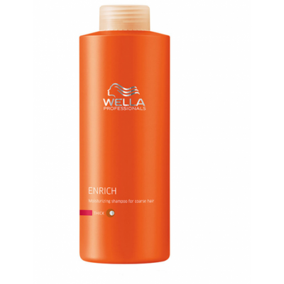 Image of   Wella Professionals Enrich Coarse Shampoo 500 ml