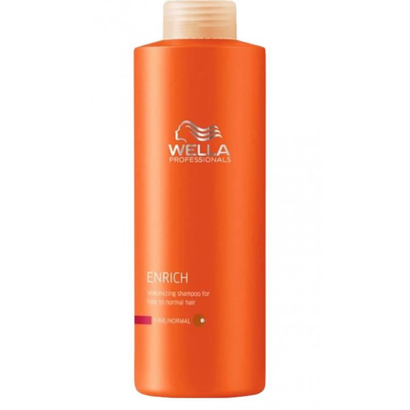 wella professionals enrich fine normal shampoo 500 ml. Black Bedroom Furniture Sets. Home Design Ideas