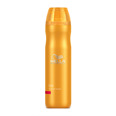 Image of   Wella Professionals Sun Hair & Body Shampoo 250 ml