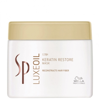 Image of   Wella SP Luxe Oil Keratin Restore Mask 400 ml