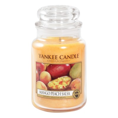 Yankee Candle  Classic Large Jar Mango Peach Salsa Candle  623 g