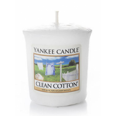Yankee Candle Classic Mini Clean Cotton Candle 49 g