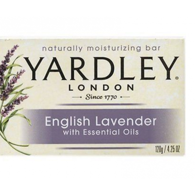 Yardley London Bar Soap English Lavender 120 g