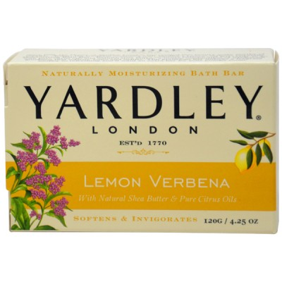 Yardley London Bar Soap Lemon Verbena 120 g