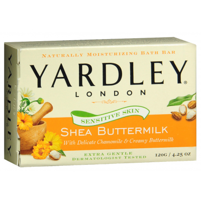Yardley London Bar Soap Shea Buttermilk 120 g