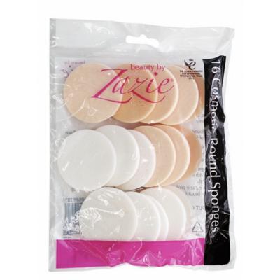 Zazie Cosmetic Round Sponges 16 st